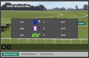 Corrida virtual de esportes na Bet365