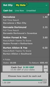 Cash out betting 365 site best betting tips app