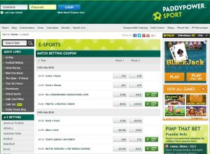 Paddy Power esports
