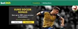 Euro Soccer Bonus Bet365